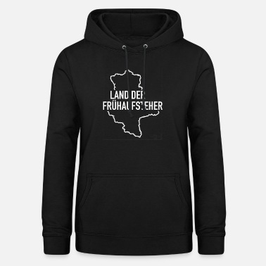 Land of the early risers Saxony-Anhalt Ossi Osten - Women's Hoodie