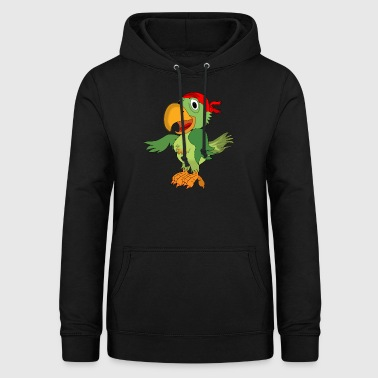 Parrot Pirate Corsair - Women's Hoodie
