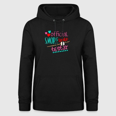 Officiel Marshmallow Tester Camping Gift - Dame hoodie