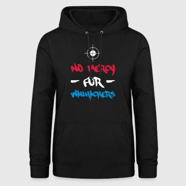 NO MERCY POUR WALLHACKERS - SNIPER - Sweat à capuche Femme