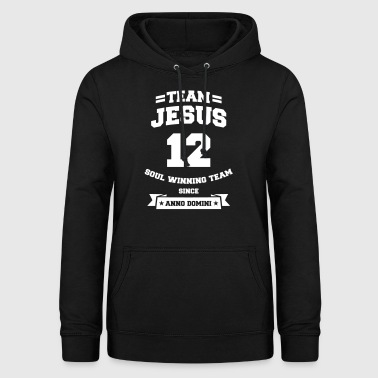 Team Jesus cooles christliches Christus Fan Shirt - Frauen Hoodie