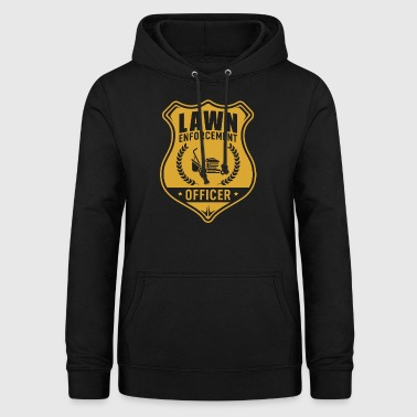 Lawn Enforcement Officer mow lawn mower - Women's Hoodie