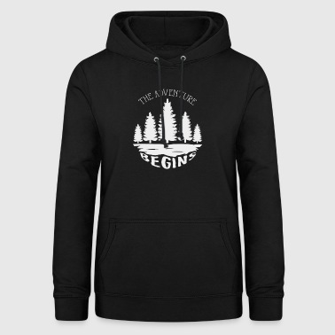 The adventure begins - Women's Hoodie