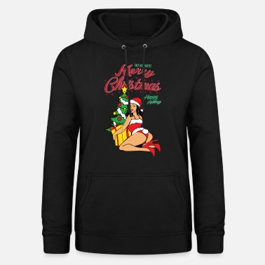 Sexy Girl Sexy Pinup Girls Christmas Christmas Xmas Advent - Vrouwen hoodie