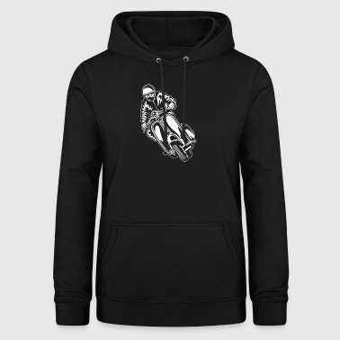 Scooter Scooter 04_white - Women's Hoodie