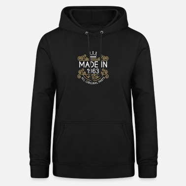 Original Made In 1963 All Original Parts - Women's Hoodie