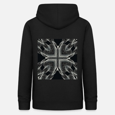 Illusion 3d pattern optical illusion - Women's Hoodie