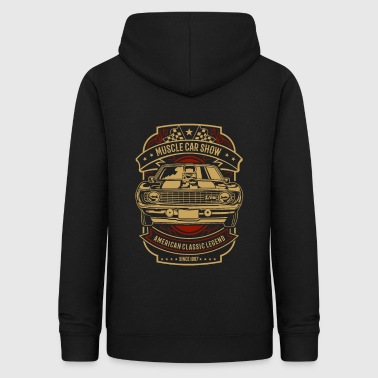 Muscle Muscle car show - Women's Hoodie