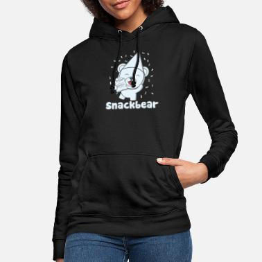 Snack Snack bear / snack bear with hat - Women's Hoodie