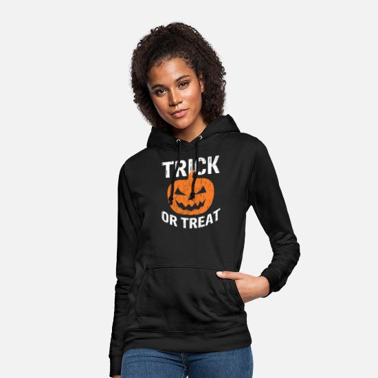 Gift Idea Hoodies & Sweatshirts - Sweet or sour pumpkin - Women's Hoodie black