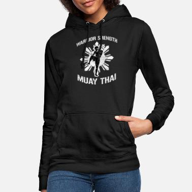 Muay Thai Kickboxen Muay Thai Kaempfer Club - Frauen Hoodie