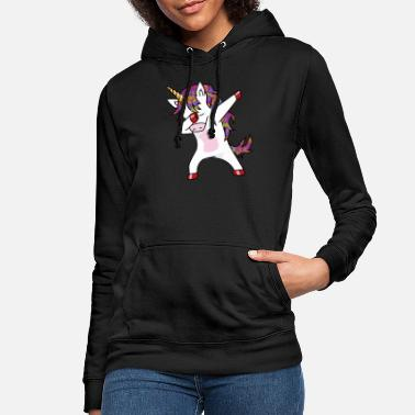 c0eeaf06efb Unicorn Dabbing unicorn - funny dancing unicorn - Women  39 ...