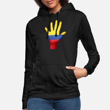 Painted Hands Kolumbien - Frauen Hoodie