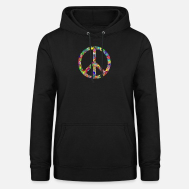 Peace Sign Peace sign - Women's Hoodie