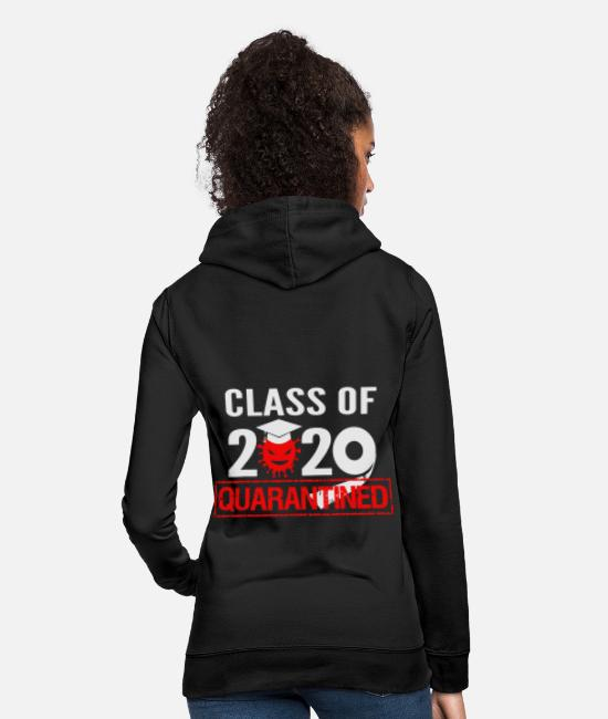Virus Hoodies & Sweatshirts - Class 2020 in quarantine - Women's Hoodie black
