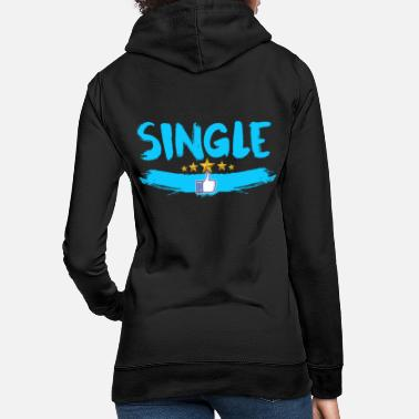 Single Single - Sweat à capuche Femme