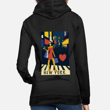 New York City love - Women's Hoodie