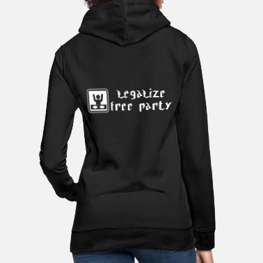 Party free party - Women's Hoodie