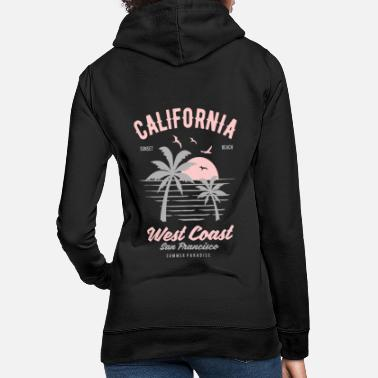 West Coast California West Coast - Frauen Hoodie