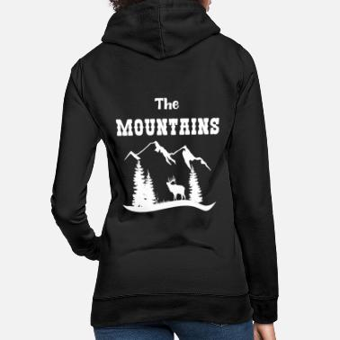 The Mountains Hiking Gift Shirt - Women's Hoodie