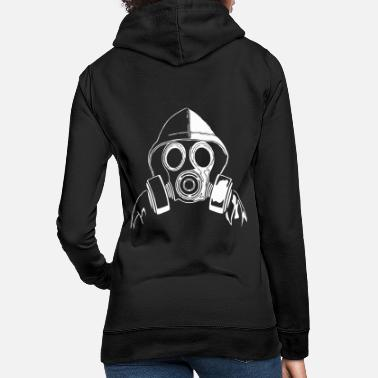 Mask gas mask - Women's Hoodie
