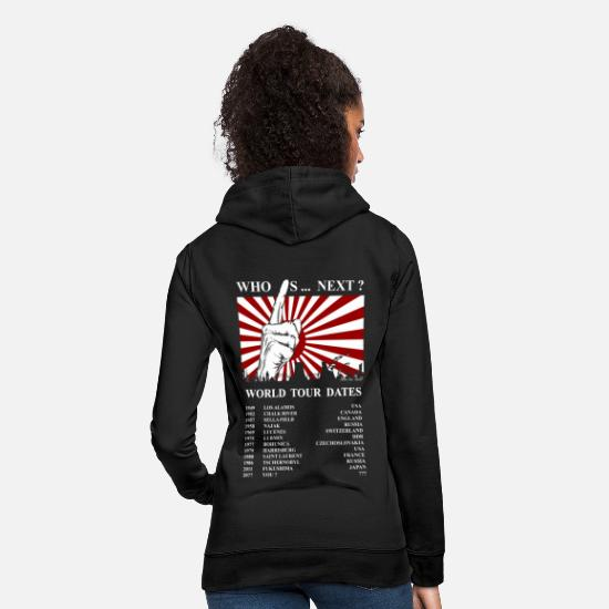 Atomic Bomb Hoodies & Sweatshirts - Nuclear Power No Thank you reactor nuclear plant misfortune atom - Women's Hoodie black
