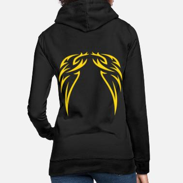 Himmel tattoo wings - Tattoo Flügel - Frauen Hoodie