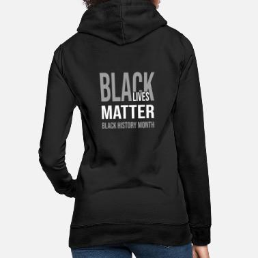 Up Black Lives Matter 11 - Sweat à capuche Femme