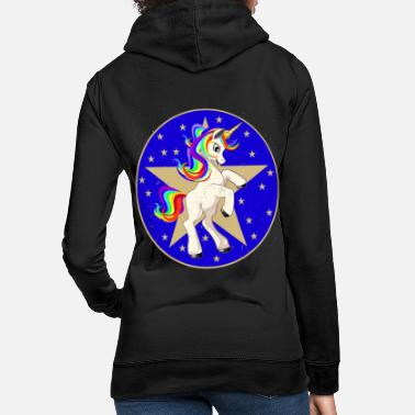 Poinsettia Unicorn Poinsettia Poinsettia Unicorn - Women's Hoodie
