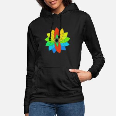 Colorful flower - Women's Hoodie