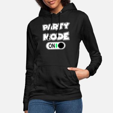 Party party mode på firandet mode rolig motiv på - Hoodie dam