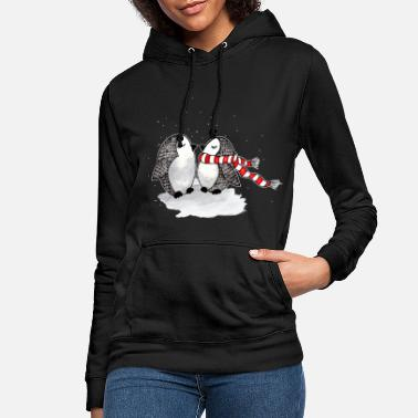 Winter Niedliche Pinguine Winter - Frauen Hoodie
