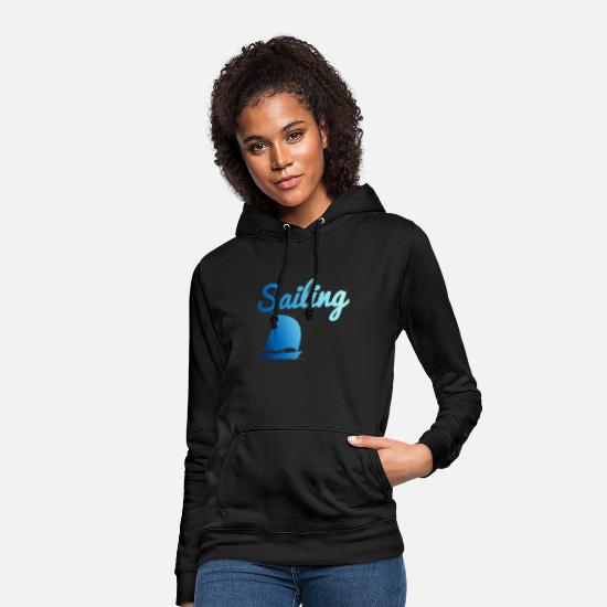 Sailboat Hoodies & Sweatshirts - Sailing - Sailing - Women's Hoodie black