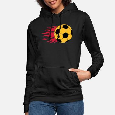 Flame burning ball - Women's Hoodie