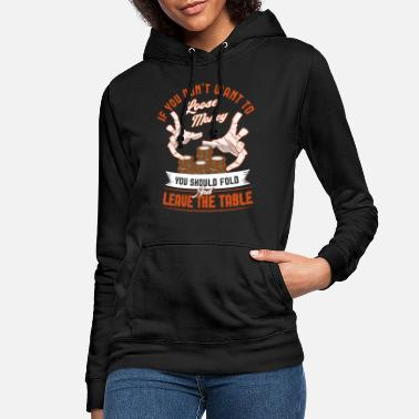 Vegas Poker Player Vegas Chips Poker Gift - Women's Hoodie
