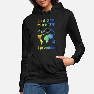 just one more trip bunt - Frauen Hoodie