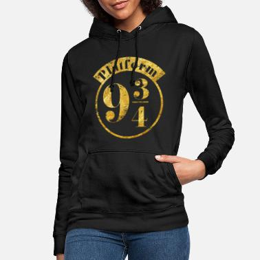 Harry Potter Harry Potter Platform 9 3/4 Gold - Frauen Hoodie