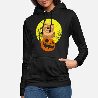 Happy Halloween pumpkin head - Women's Hoodie