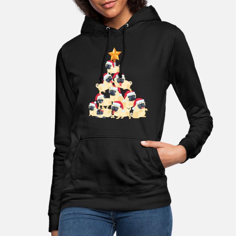 Natale bianco invernale 130x150cm campeggio camera da letto divertenti carlino coperta con cappuccio Coperta con cappuccio cane per uomo e donna a righe