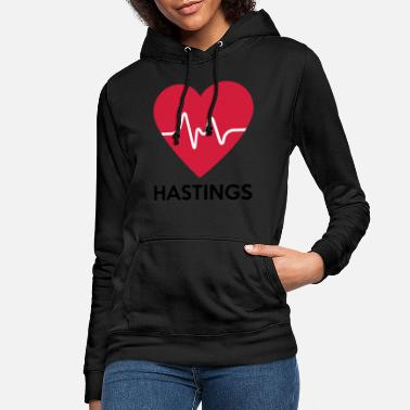 Hastings heart Hastings - Women's Hoodie