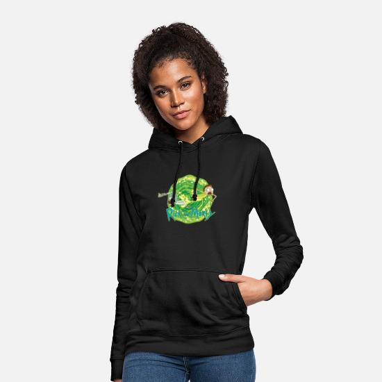And Sweaters & hoodies - Rick And Morty Multidimensional Travel - Vrouwen hoodie zwart