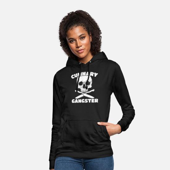 Boss Hoodies & Sweatshirts - Culinary gangster chef cook gift - Women's Hoodie black