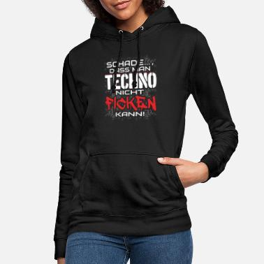 Techno Techno Rave EDM Electronic Dubstep D&B - Frauen Hoodie