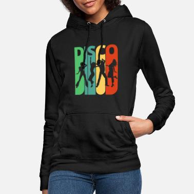 Disco Vintage Retro Disco. Dancing.Birthday, Party Gifts - Women's Hoodie