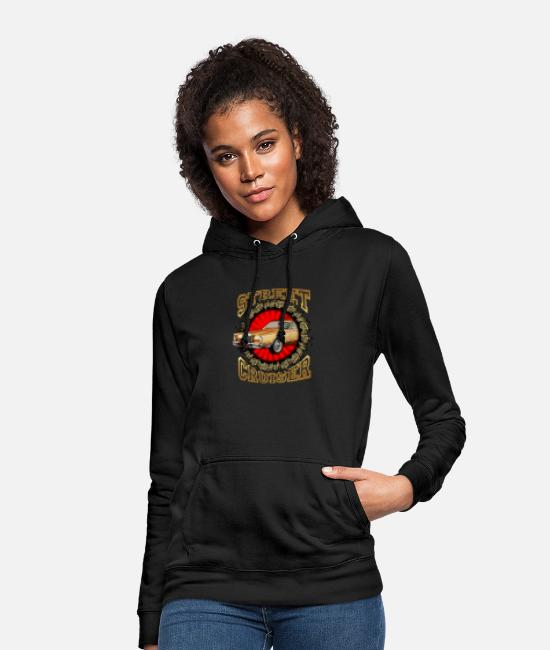 Gold Hoodies & Sweatshirts - Street cruiser - Women's Hoodie black