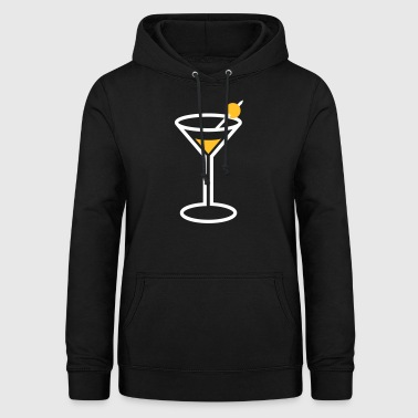 Martini Cocktail Glass - Women's Hoodie