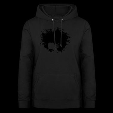 Gothic New Wave Head - Women's Hoodie