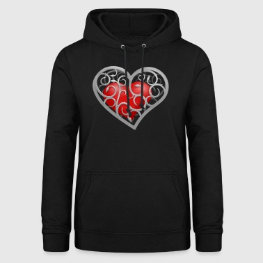 Heart in the cage - Women's Hoodie