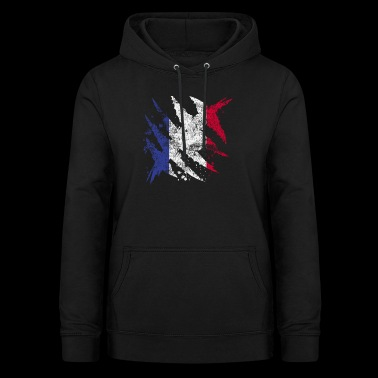 France flag gift french flag - Women's Hoodie