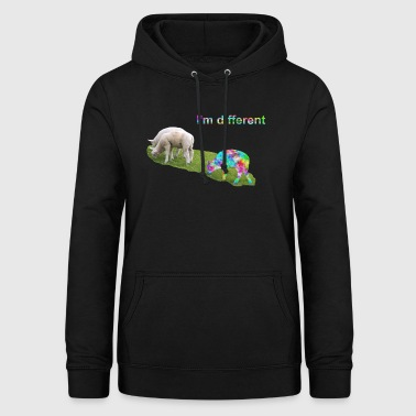I'm different. Stay different. Be different. - Women's Hoodie